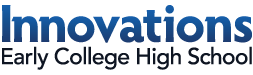 Innovations Early College High School Logo